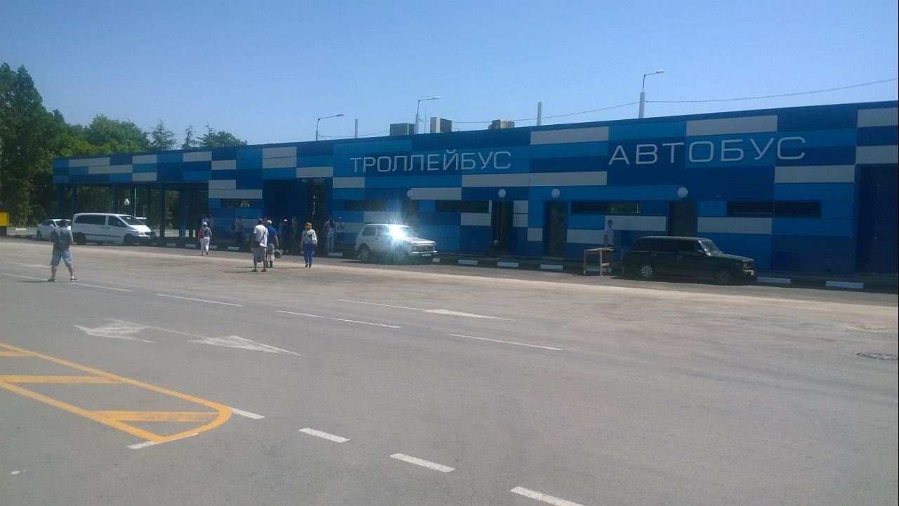 В аэропорту Симферополя открыли дополнительно две автобусные кассы