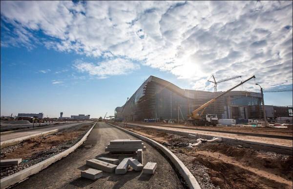 Строительство нового аэропорта «Симферополь» близится к завершению