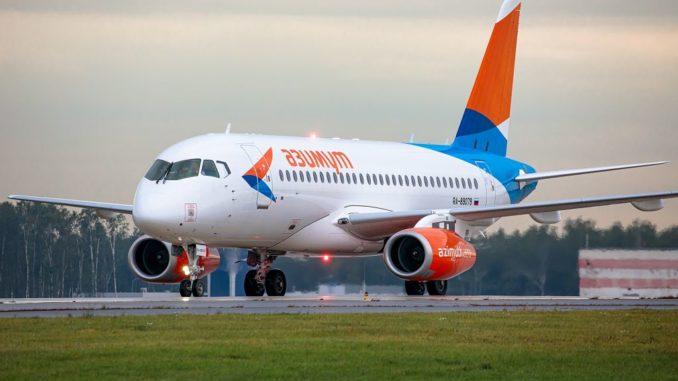«Азимут» увеличивает частоту выполнения рейсов из аэропорта Симферополь в Ростов-на-Дону