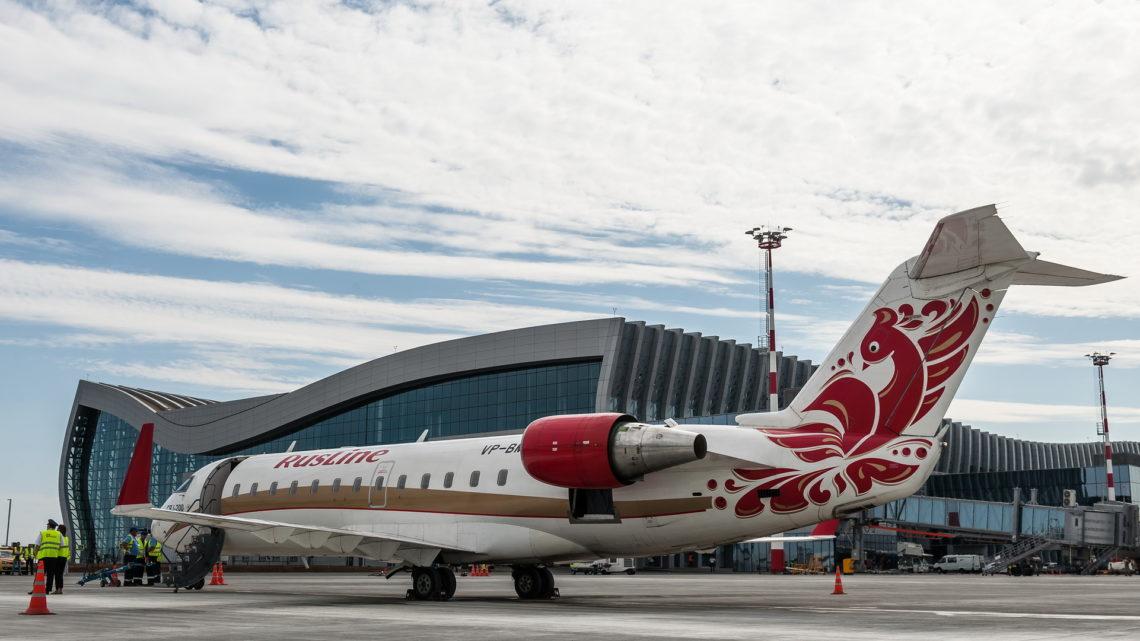 В декабре «РусЛайн» запустит рейсы из Воронежа в Симферополь