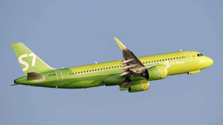 S7 Airlines запустит прямые рейсы из Иркутска в Симферополь