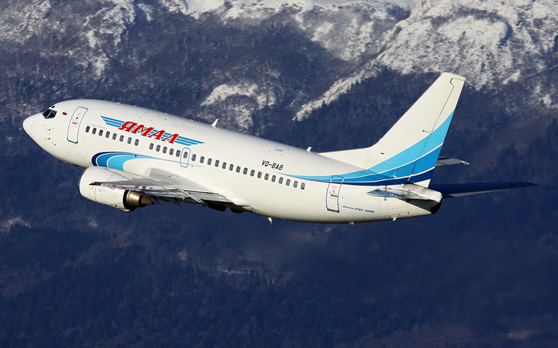 Авиакомпания «Ямал» информирует об открытии продажи авиабилетов из/в Симферополь