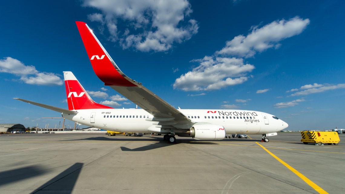Авиакомпания Nordwind открыла продажи билетов в Симферополь и Сочи